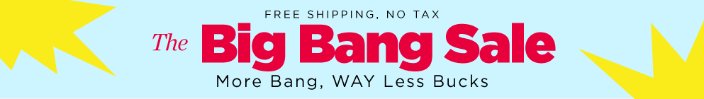 Big Bang Sale - Jan 2016